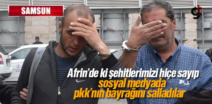 Samsun Haber: Sosyal Medyada Terör Propagandası Yaptılar