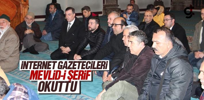 Samsun İnternet Gazetecileri Mevlid-i Şerif Okuttu
