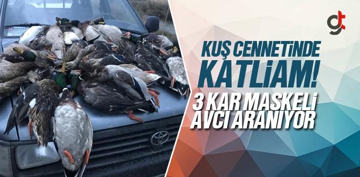 Samsun Kuş Cenneti'nde 3 Kar Maskeli Avcı, 57 Yeşilbaş Ördeği Öldürdü