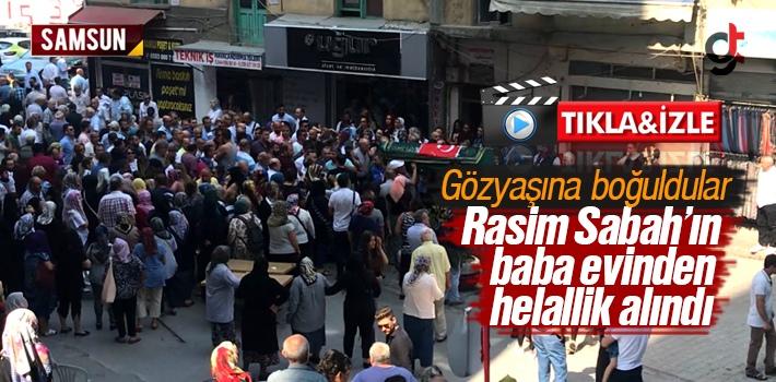 Samsun Rizeliler Fırını Sahibi Rasim Sabah'ın Cenaze Töreni Yapıldı – Video Haber