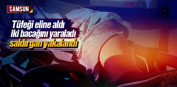 Samsun Tekkeköy'de Pompalı Tüfekli Kavga