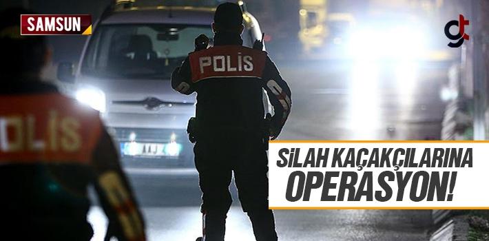 Samsun Tekkeköy'de Silah Kaçakçılarına Operasyon