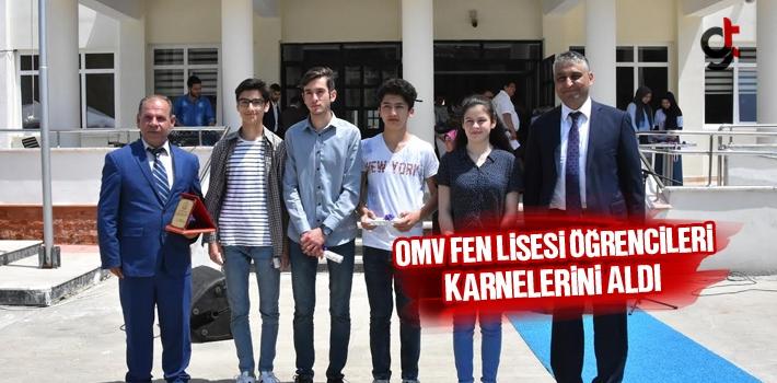 Samsun Terme Kozluk OMV Lisesi Öğrencileri Karnelerini Aldı