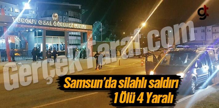 Samsun Turgut Özal Kız Öğrenci Yurdu Önünde Silahlı Saldırı
