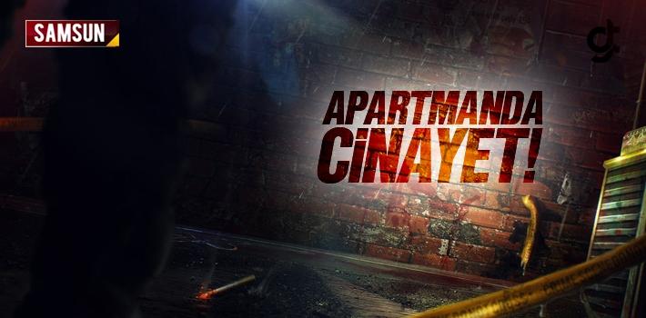 Samsun Ulugazi TOKİ'de Apartmanda Cinayet