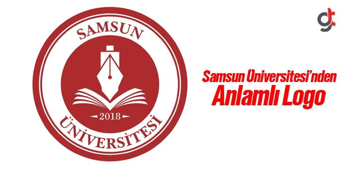 Samsun Üniversitesi'nden Anlamlı Logo