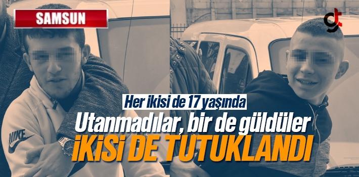 Samsun'da 17 Yaşındaki Motorsiklet Hırsızları Tutuklandı