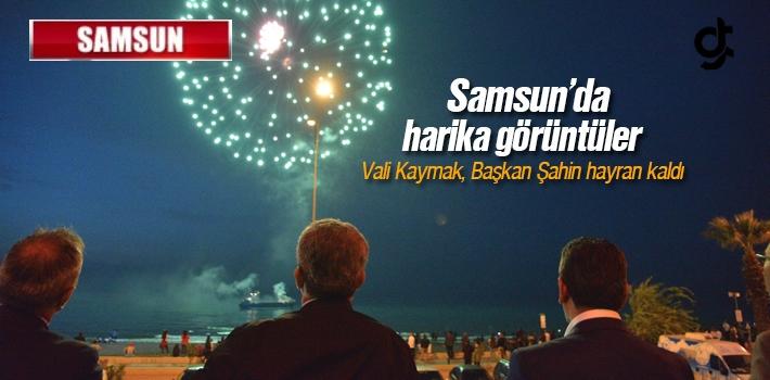 Samsun'da 19 Mayıs Günü Bu Şekilde Kutlandı