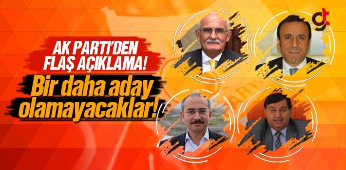 Samsun'da AK Parti'den 4 Belediye Başkanı Aday Olamayacak