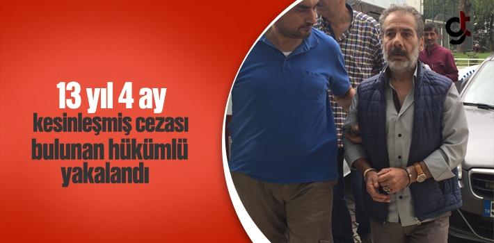 Samsun'da Aranan Hükümlü Yakalandı
