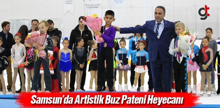 Samsun'da Artistik Buz Pateni Heyecanı