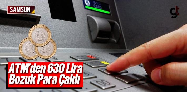 Samsun'da banka ATM'sinden hırsızlık iddiası