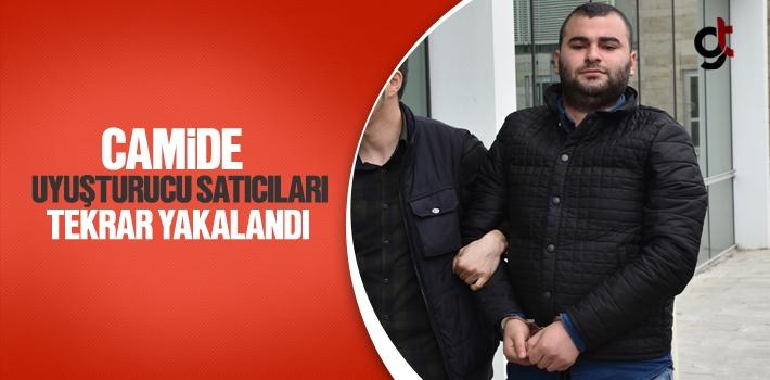 Samsun'da Camide Uyuşturucu Satıcıları Tekrar Yakalandı