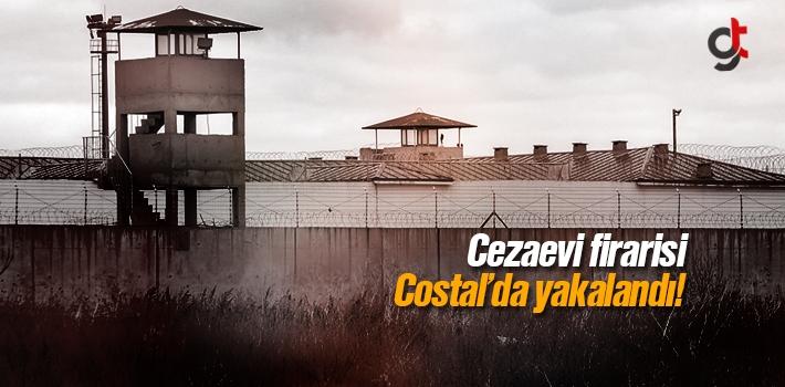 Samsun'da Cezaevinden Firar Eden Hükümlü Costal'da Yakalandı