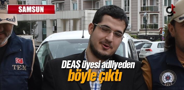 Samsun'da DEAŞ Üyesi Salıverildi