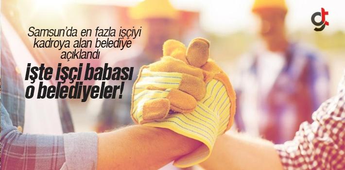 Samsun'da En Fazla Kadroya Alım Yapan Belediye