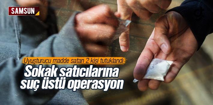 Samsun'da Esrar Satan 2 Kişi Tutuklandı