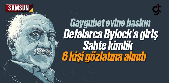 Samsun'da FETÖ'nün Gaygubet Evine Baskın 6 Kişi Gözaltına Alındı
