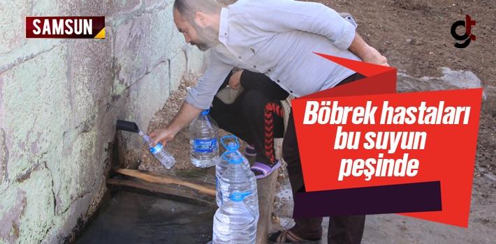Samsun'da Havza'da Bulunan Kaynak Suyu Böbrek Hastalarına Şifa