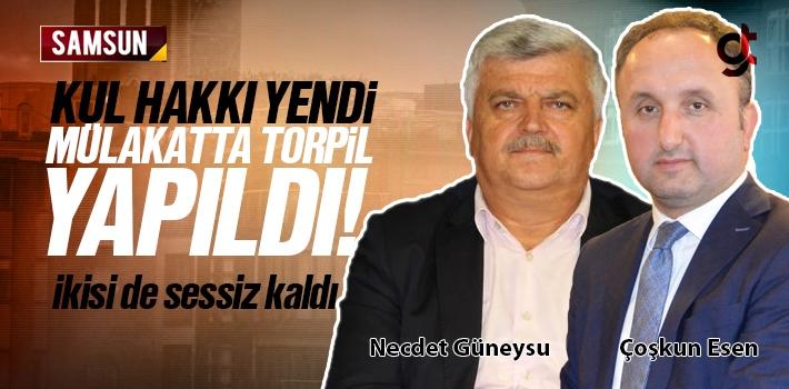 Samsun'da İdareci Mülakatında Torpil Yapıldı