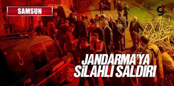 Samsun'da Jandarma'ya Silahlı Saldırı