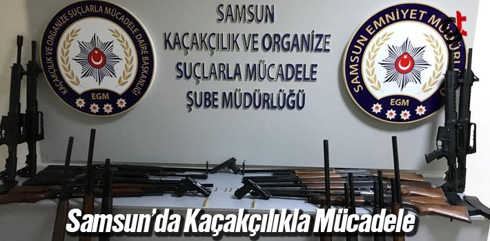 Samsun'da Kaçakçılıkla Mücadele