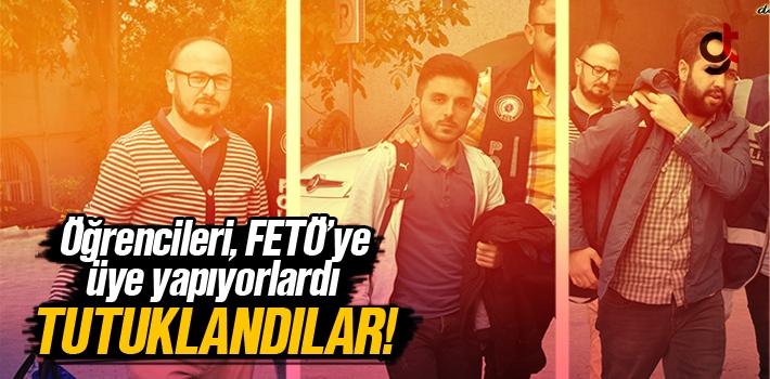 Samsun'da Öğrencileri FETÖ Üyesi Yapan Öğrenci İmamlar Tutuklandı