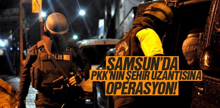 Samsun'da PKK'nın Şehir Uzantısına Operasyon Düzenlendi