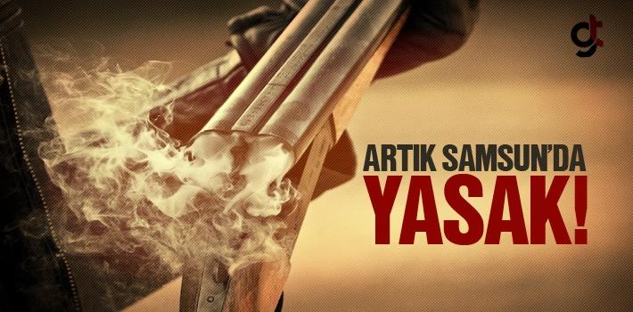 Samsun'da Pompalı Tüfeklerin Satışı Yasaklandı