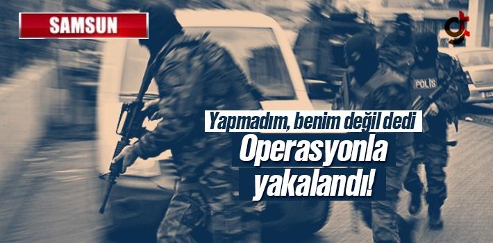 Samsun'da Silah Kaçakçılığı ve Uyuşturucu Operasyonu