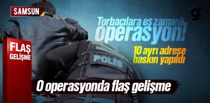 Samsun'da uyuşturucu ticareti yaptıkları iddiasıyla gözaltına alınan 6 şüpheliden 3'ü tutuklandı