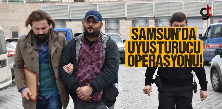 Samsun'da Uyuşturucu Operassyonunda 1 Kişi Yakalandı