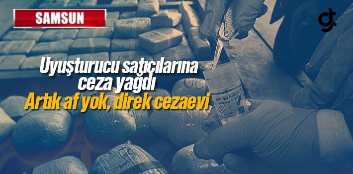 Samsun'da Uyuşturucu Tacirlerine Cezaevi Yolu Göründü
