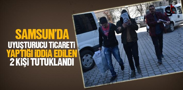 Samsun'da Uyuşturucu Ticareti Yaptığı İddia Edilen 2 Kişi Tutuklandı