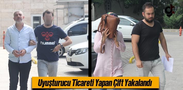Samsun'da Uyuşturucu Ticareti Yapan Çift Yakalandı