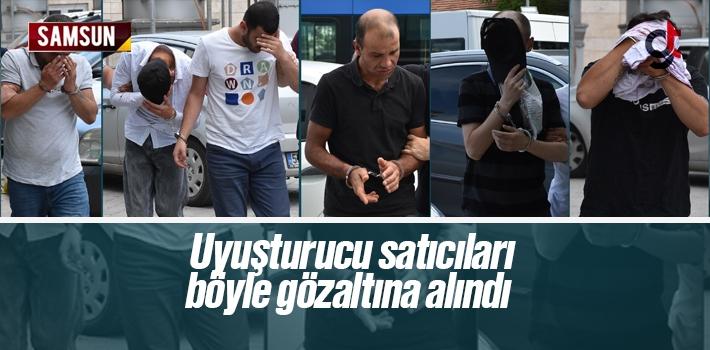 Samsun'da Uyuşturucu Satan 6 Kişiden 3'ü Tutuklandı