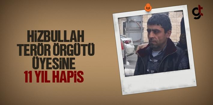 Samsun'da Yakalanan Hizbullah Terör Örgütü Üyesine 11 Yıl 8 Ay Hapis Cezası