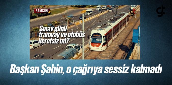 Samsun'da YKS Sınavı İçin Tramvay Ücretsiz Olacak