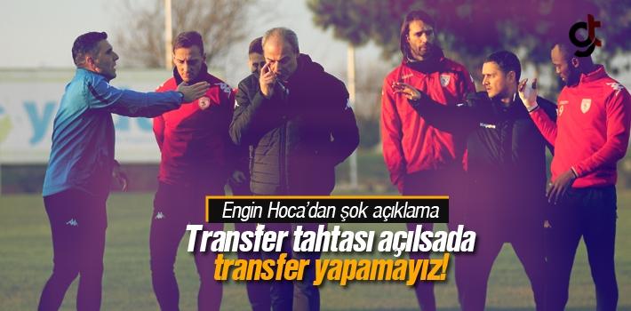 Samsunspor  Futbolcu Transferi Yapamaz