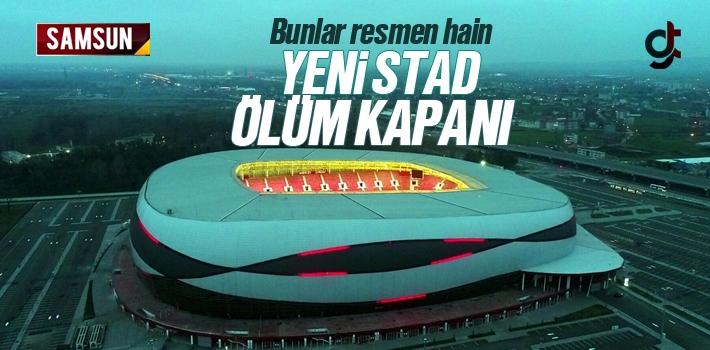 Samsunspor Stadı Her An Havaya Uçabilir