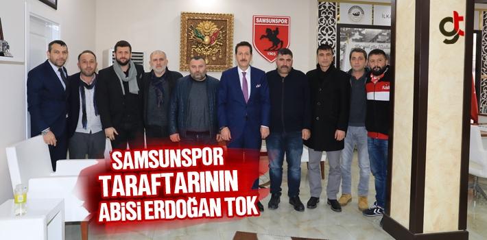 Samsunspor Taraftarının Abisi Erdoğan Tok