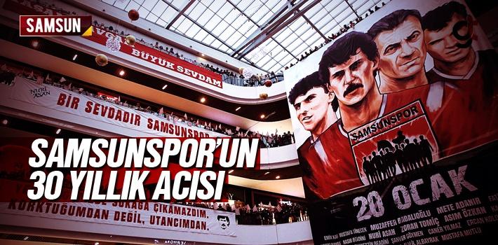 Samsunspor'un 20 Ocak 1989 Kazasının 30. Yıl Dönümü