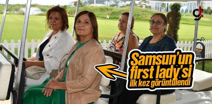 Samsun'un First Lady'si Şükriye Şahin İlk Kez Görüntülendi