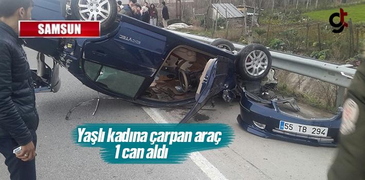 Samsun'un Yakakent'te Trafik Kazası 1 Can Aldı