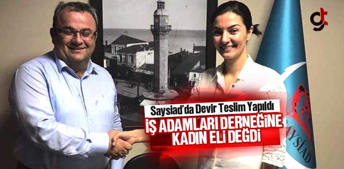 SAYSİAD Başkanı Ayşe Üstünel Dağdelen Oldu