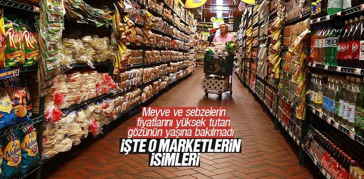 Sebze ve Meyve Fiyatlarını Yüksek Kar İle Satan 23 Büyük Markete Soruşturma