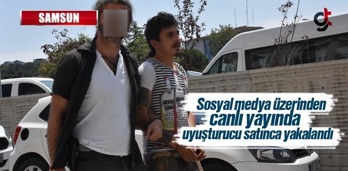 Sosyal Medya Üzerinden Canlı Yayında Uyuşturucu Satınca Yakalandı