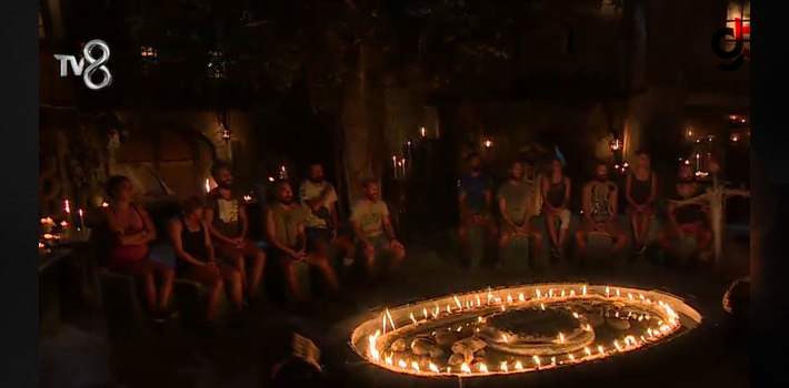 Survivor'da Kim Elendi, Kim Gitti Survivor'da Adaya Kim Veda Etti Survivor Büyük Sms Sonuçları TV8 Yan Ekran Sonuçları