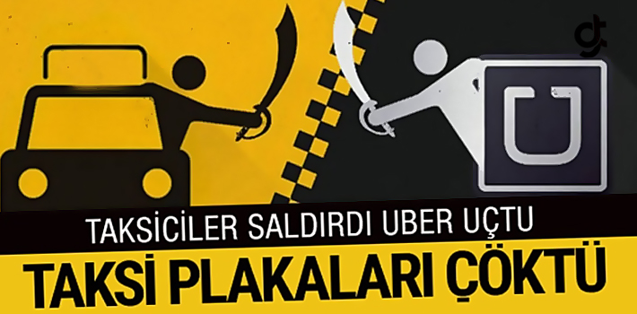 Taksiciler Saldırdı, Uber Tavan Yaptı