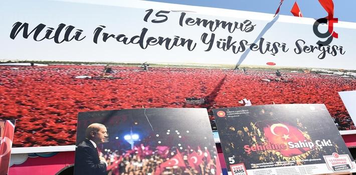 Tekeköy'de 15 Temmuz Milli İrade Fotoğraf Sergisi